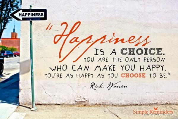 Fericirea incepe azi – sau acel moment cand realizezi ca fericirea e doar la 1m distanta