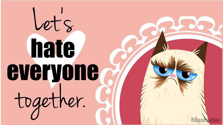 Ce e cu miscarea anti-Valentine's Day?