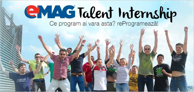 Vara asta ai program. Faci Internship la eMAG!