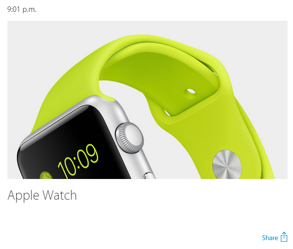 introducing iWatch
