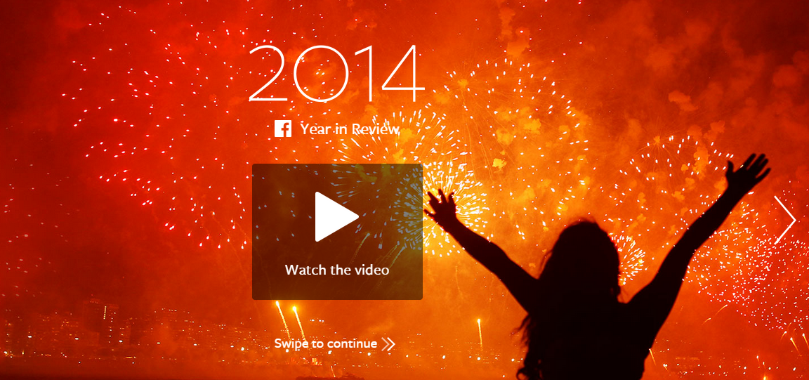 Cele mai shareuite momente in 2014 – Year in Review Facebook, Twitter si YouTube