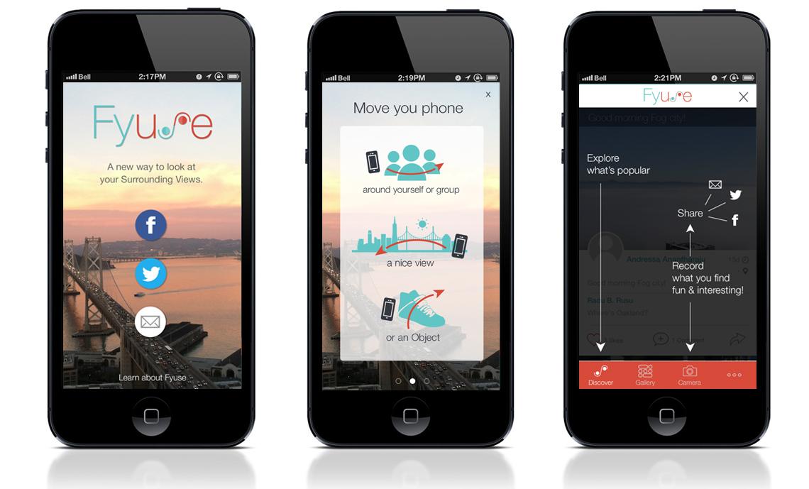 Fyuse – aplicatia cu care faci selfieuri 3D